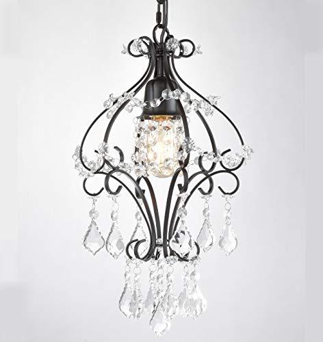 Dazhuan Modern Chandelier Crystal Pendant Light Dinning Room Ceiling Lighting Fixture Oil Rubbed Bronze