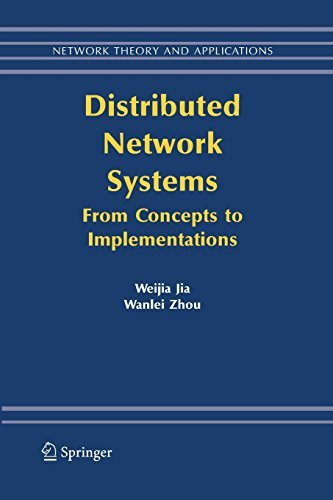Download Distributed Network Systems: 15 (Network Theory and Applications) Pdf
