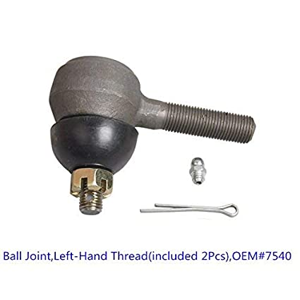 Club Car Tie Rod End for DS G/&E 1976-2008 Driver and Passenger Side OEM #75397540
