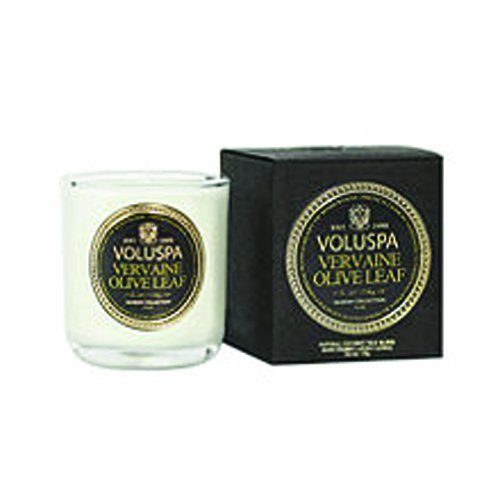 on Boxed Votive - Vervaine Olive Leaf 3 Oz (85g) by Vetrarian (Leaf Boxed)