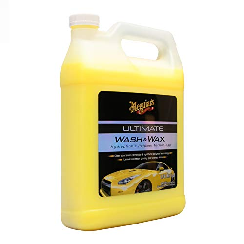 MEGUIAR'S G17701 Ultimate Wash & Wax, 1. gallons (Car Soap)