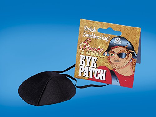 [Eyepatch Deluxe] (Pirate Halloween Costumes Ideas)