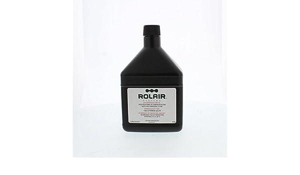 Amazon.com : Rolair Air OILCOMP30W34C Compressor Oil 1 Quart ...