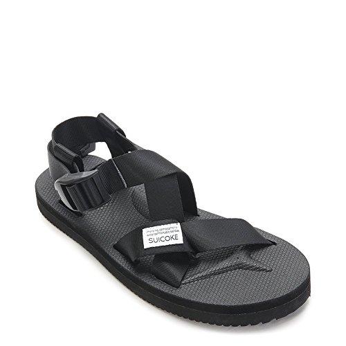 21ce49d6ca88 Suicoke Men s Summer CHIN2 Sandals OG-023-2 Black SZ 5 high-quality ...