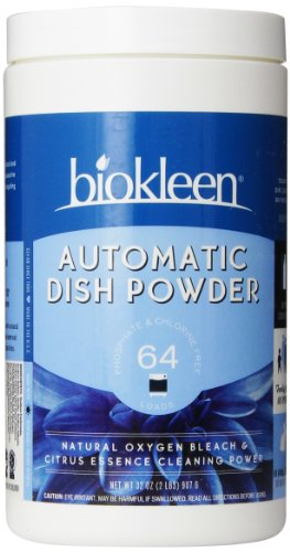 Biokleen Automatic Dish Powder, Citrus Essence, 2 Pounds (Pack of 12) by Biokleen