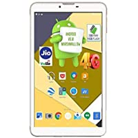 (Renewed) Ikall N5 Tablet (7 inch, 16GB, 4G + LTE + Voice Calling), White