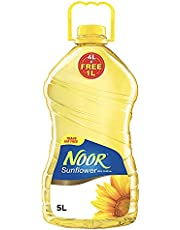Noor Sunflower Oil, 5 Liters