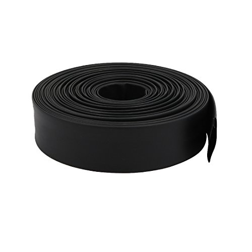 uxcell 10M Length 0.71in Inner Dia Polyolefin Heat Shrinkable Tube Sleeving Black by uxcell