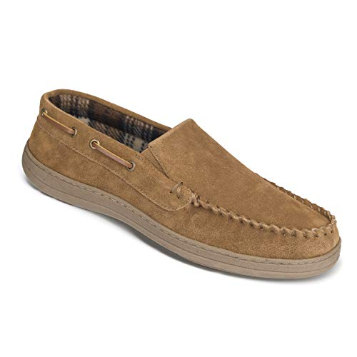 Rockport Venetian Premium Indoor/Outdoor Slippers - Suede (for Men) - Tan - Size 12M