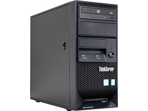 Lenovo ThinkServer TS140 High Performance Flagship Tower Server, Intel Core i3-4150 3.5GHz, 8GB DDR3, No Hard Driver, DVDRW, Intel HD Graphics 4400, USB 3.0, No Operating System