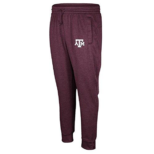adidas Men's NCAA Anthem Climawarm Sweat/Jogging Pants-Texas A&M Aggies-Maroon-Large (Texas Workout Pants)