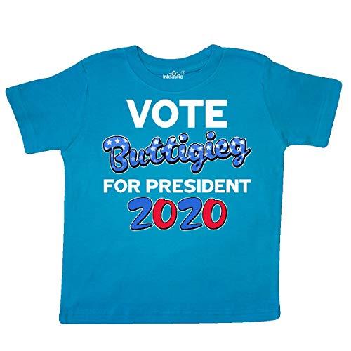 inktastic - Vote Pete Buttigieg for Toddler T-Shirt 5/6T Turquoise 34fb9