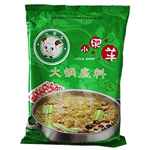 Little Sheep Hot Pot Soup Base Pack of 5 Come With 2 Cup Dipping Sauce FREE By KC Commerce (Clear Broths)