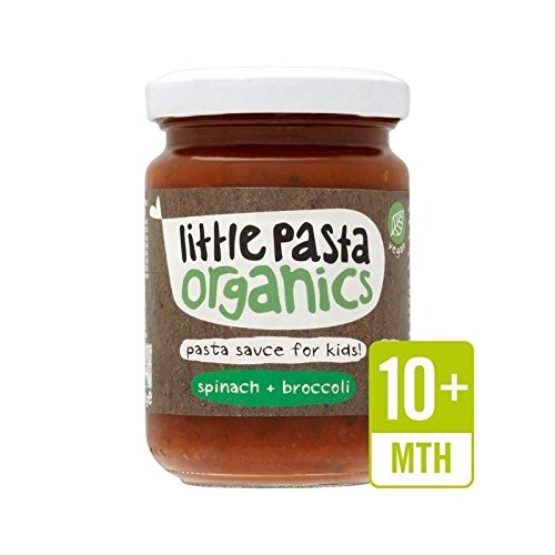 Little Pasta Organics Free From Broccoli & Spinach Pasta Sauce 130g - Pack of 2