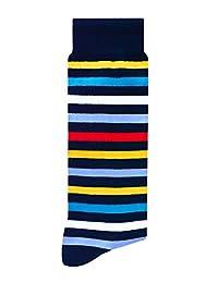 Skunk Socks Líneas Calcetines de vestir, Hombres