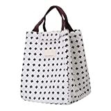 Storage Bags - Woman Portable Lunch Bag Dot Insulated Cooler Thermal Food Picnic Kid Box Tote - Wished Toy Deal Seller Game Today S Jewelry Kitchen Dining Clothing Book - 1PCs