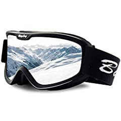 BangLong series dual-lens goggles featured with anti-fog, anti-wind and 100% UV protection to protect your eyes when skiing, snowboarding, snowmobiling and other snow sports.        Clear vision at day & night in all weather condit...