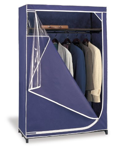 Organize It All 74046W-1 Wardrobe, Blue