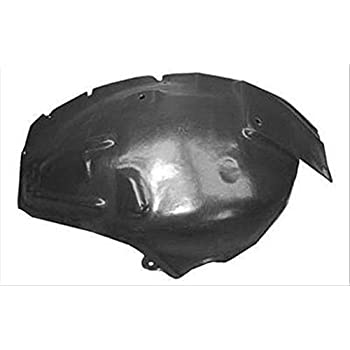 OE Replacement Ford//Lincoln//Mercury Front Passenger Side Fender Splash Shield Partslink Number FO1251136