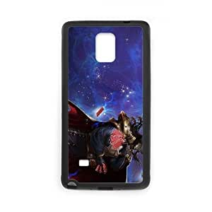 samsung_galaxy_note4 phone case Black Twisted Fate league of legends HUI4590137