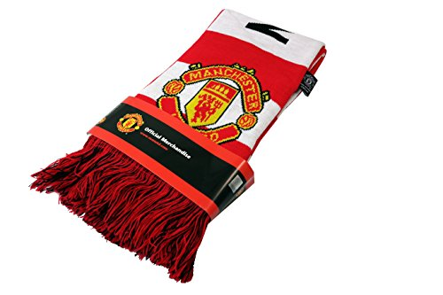 (Mancester United F.C. Authentic Official Licensed Soccer Scarf (One Size, Manchester United)