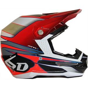 6D Hornet Graphic Men's ATR-1 F18 MotoX Motorcycle Helmet