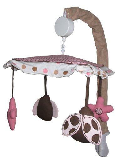 Ladybug Musical Mobile (Musical Mobile for Ladybug Baby Bedding Set By Sisi)