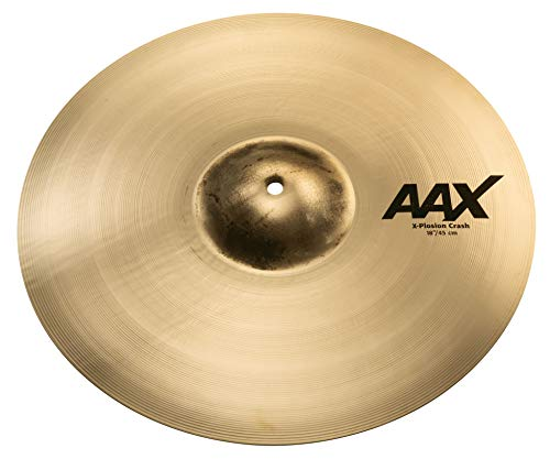 Sabian 18-Inch AAX X-Plosion Crash Brilliant Finish Cymbal