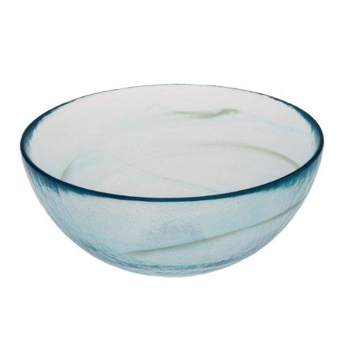 Abigails Clear Stone Age Bowl, Aqua by Abigails