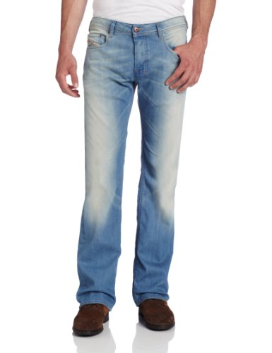 d2713841207 Diesel Men s Zatiny Slim Micro-Bootcut Jean (B00CAKMBE6)
