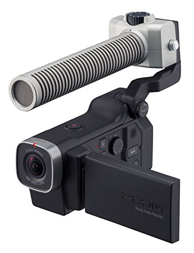 Zoom Q8 HD Video, 4‑Track Audio Recorder & SGH-6 Shotgun Microphone Capsule - Bundle by Zoom