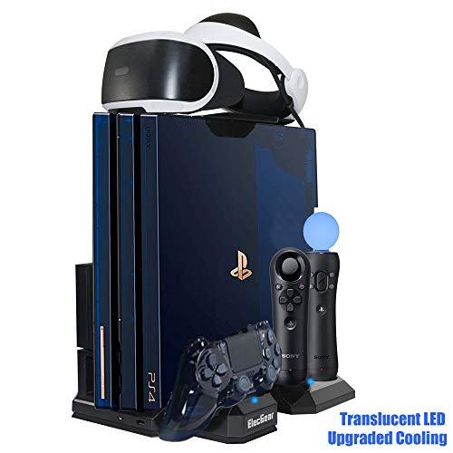 EditionController Vertical Limited Charging Stand CoolerPsvr Storage Elecgear Playstation Fan Docking Headset Holder Station DockCooling Charger DYb2E9IeWH
