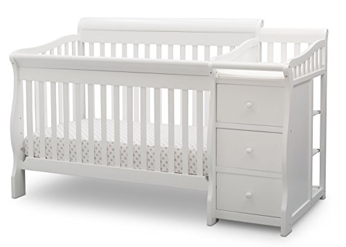 Delta Children Princeton Junction Convertible Crib N Changer ()