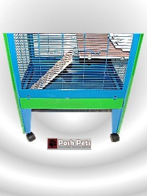 Amazon.com: Posh Pets Chinchilla All Metal Jaula Degu Rata ...