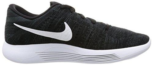 Nike Lunarepic Low Flyknit, Zapatillas de Running para Hombre Negro (Negro (black/white-anthracite))