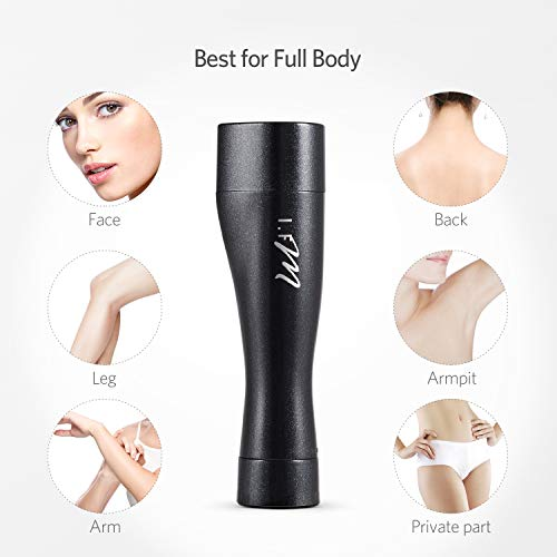 Facial Hair Removal, I.FM Waterproof Painless Flawless Hair Remover Miniature Female Facial Hair Remover by I.FM (Image #7)