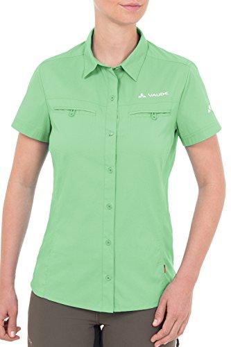 VAUDE Bluse Womens Farley Shirt - Camisa / Camiseta para mujer Verde