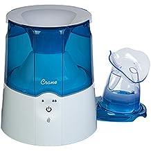 Crane USA Personal Steam Inhaler & Warm Mist Humidifier, Blue and White