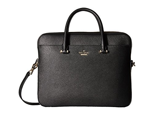 Kate Spade New York Women's Saffiano Bag Laptop Cases 13'' Black Laptop Bag by Kate Spade New York