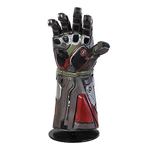 MostaShow Hulk,Thanos,Iron Man Infinity Gauntlet Latex Gloves for Kids Halloween Party Costume Props