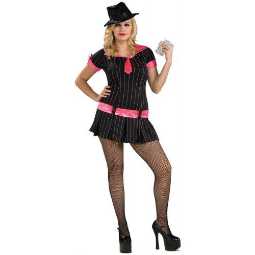 Gangsta Girl Costume - Plus Size - Dress Size -