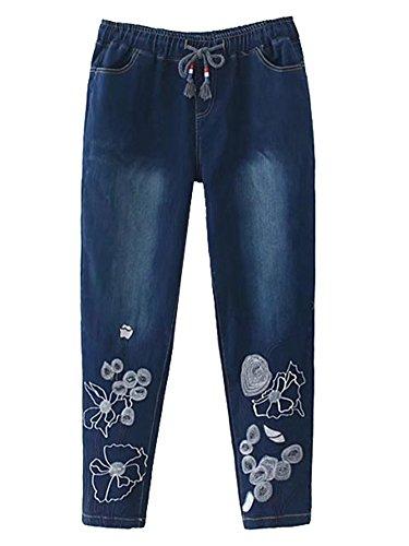 JeansForest fonc Femme JeansForest Jeans Jeans noir Femme ffEU7