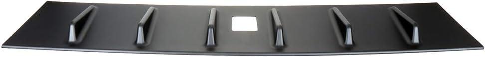 ECCPP ABS Spoiler Wing Unpainted Rear Window Top Roof Spoiler Matte Black Exterior Accessories for Mitsubishi Lancer 2.4L 4-Door GT Sedan