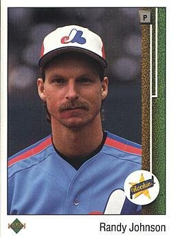 1989 Upper Deck Baseball 25 Randy Johnson Rookie Card