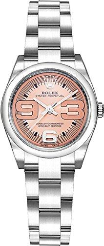 Women's Rolex Oyster Perpetual Pink Dial 26mm Watch (Rolex Pink Watch)