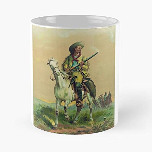 William Cody Buffalo Bill Pony Express - Funny Coffee Mug, Gag Gift Poop Fun Mugs