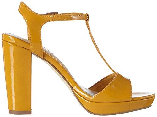 Tamaris 28371 - Sandalias con plataforma Mujer Amarillo - Gelb (YELLOW PATENT 620)