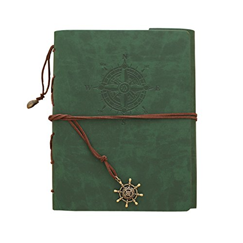 Zoview Adhesive Scrapbook Photo Album Memory Book , 60 Pages Hand Made DIY Albums ,Dark Green