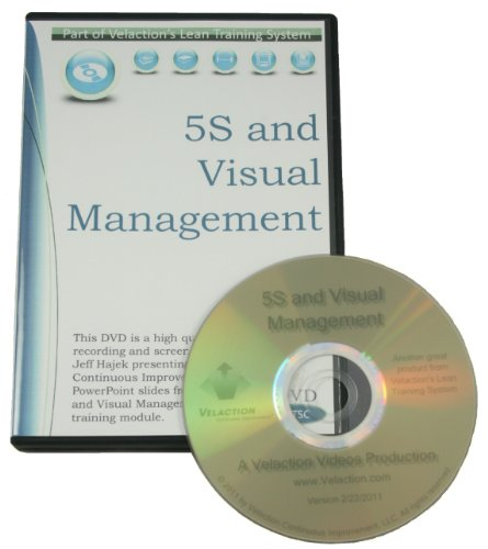 Students Visual Guide - 5S and Visual Management Training Extended Pack (DVD, PPT, Student Guide, and More)