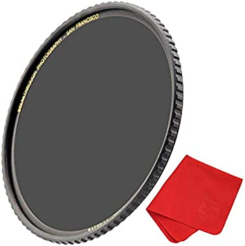 MRC16 Nanotec Breakthrough Photography 77mm X4 15-Stop Fixed ND Filter for Camera Lenses Neutral Density Professional Photography Filter WeatherSealed Ultra-Slim Schott B270 Glass